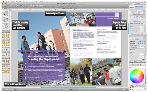 interfaccia iStudio Publisher