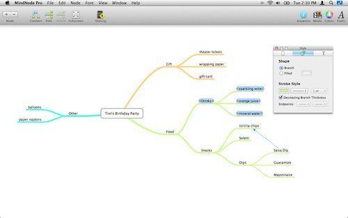 MindNode Pro: il programma per creare mappe mentali sul tuo Mac