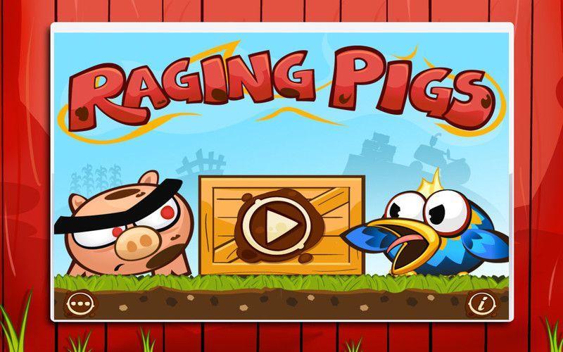 Se volete divertirvi con dei maialini infuriati il gioco per Mac Raging Pigs fa al caso vostro