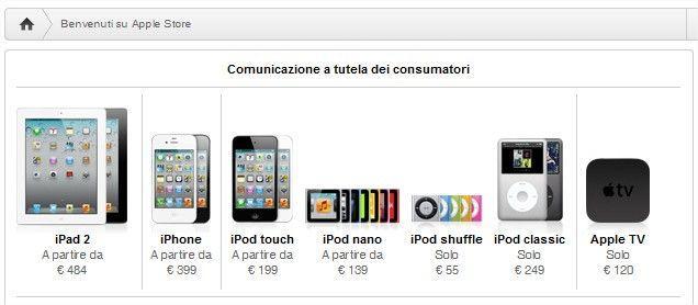Apple è stata costretta a inserire sul proprio sito la delibera dell'AGCOM a favore dei due anni di garanzia