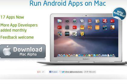 BlueStacks per Mac