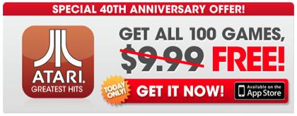 100 Giochi classici Atari Gratuiti