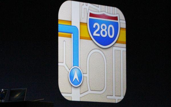 apple maps, io6