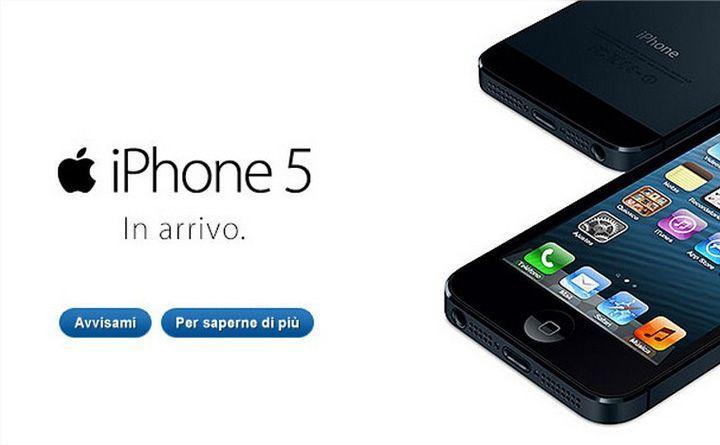 iPhone 5 arriva in vendita in Italia tramite Tim Vodafone e Tre