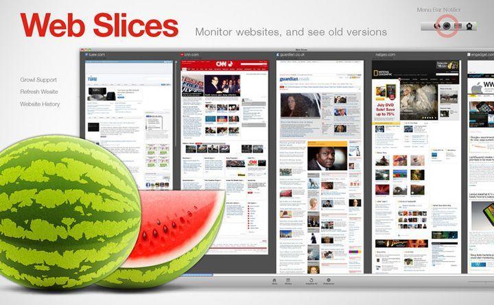 Web-Slices