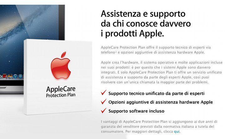Apple garanzia