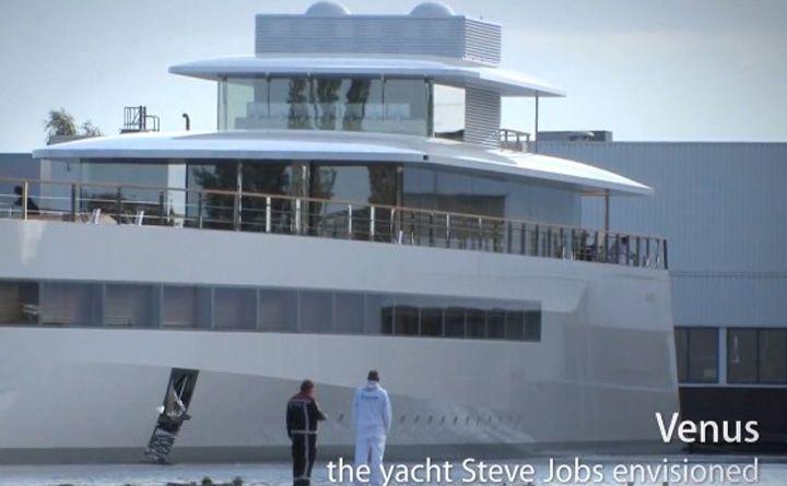 yacht di Steve Jobs