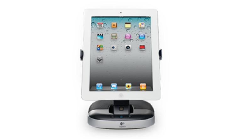 Speaker stand for iPad Logitech