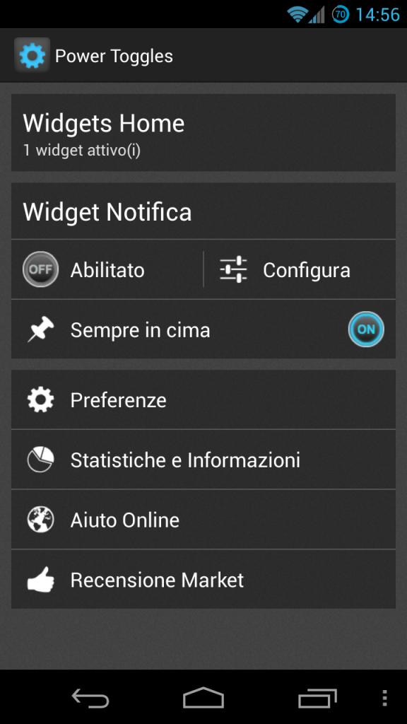 Screenshot_Configurazione