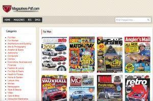 magazine pdf ha come punto di forza l'adozione dei feed RSS per non perdere l'uscita di nessuna rivista o quotidiano