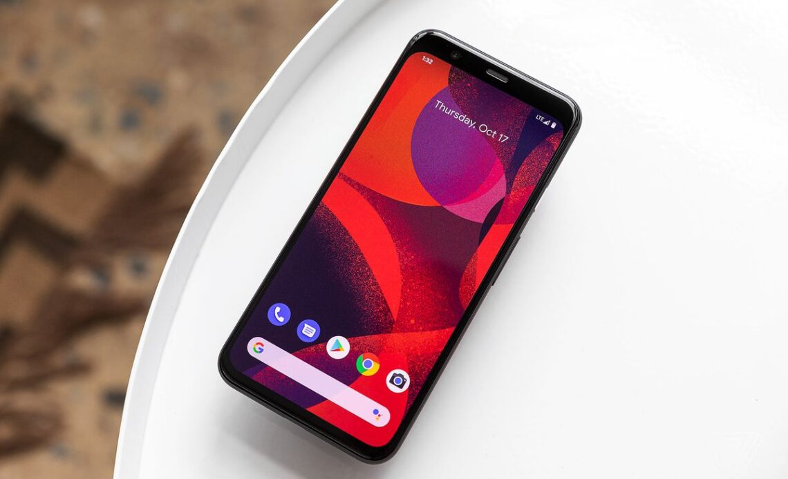 Google Pixel 4 con Android Stock