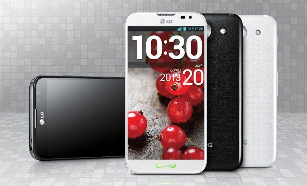 LG optimus G Pro smartphone