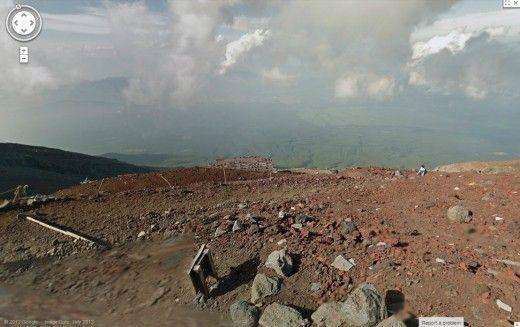 monte Fuji google street view