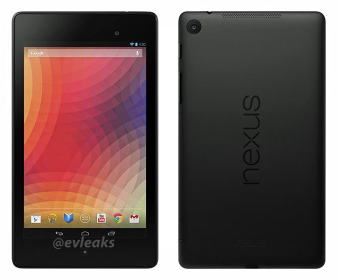 New Nexus 7 render