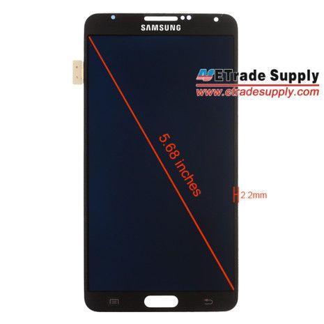 Galaxy Note III display e cornice