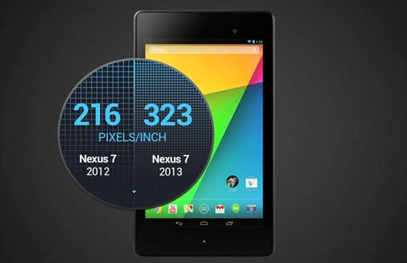 Nexus 7 2013 display