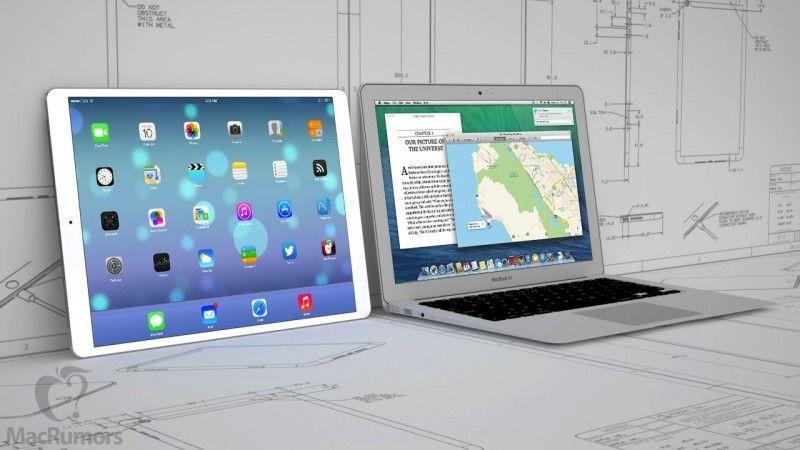 iPad 12,9 e MacBook Air Touch