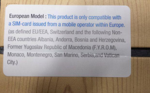Note 3 europeo