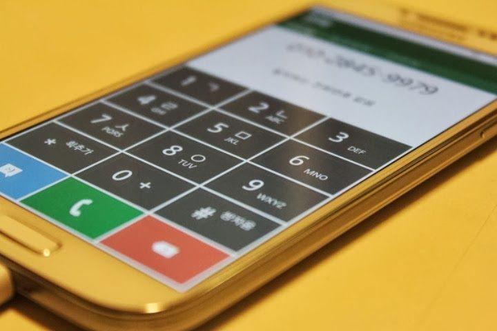 Tizen 3 user interface