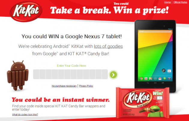 concorso Kit Kat
