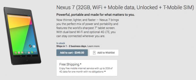 Nexus 7 LTE