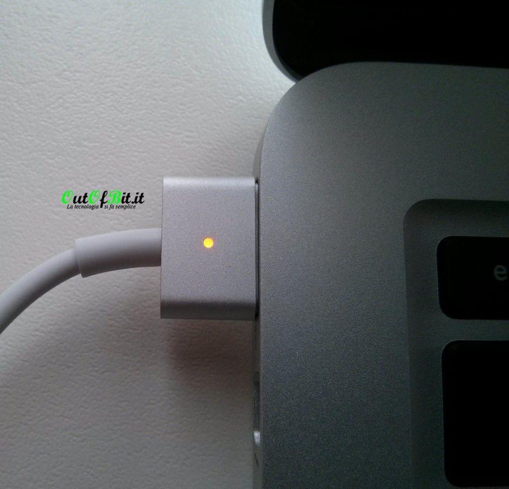 MacBook Pro Retina 13 late 2013 Unboxing carica