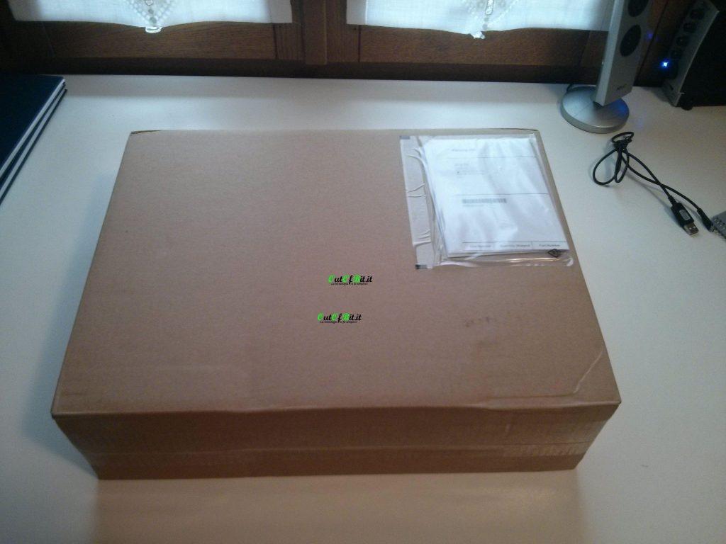 MacBook Pro Retina 13 late 2013 Unboxing pacco
