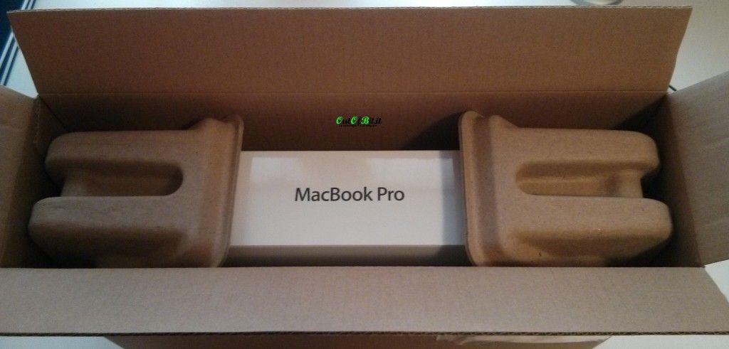 MacBook Pro Retina 13 late 2013 Unboxing pacco aperto