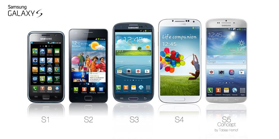 Galaxy S5 Render