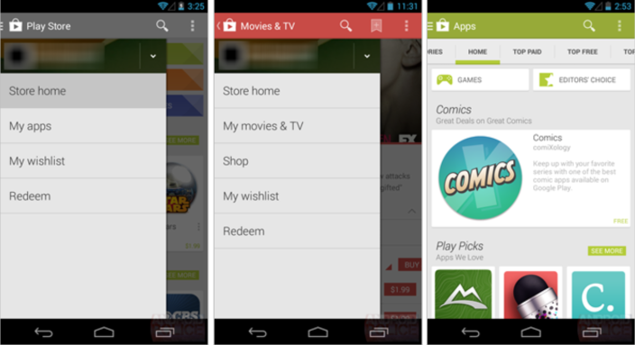 nuovo play store 4.4