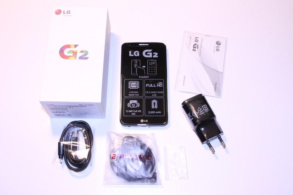 LG G2 unboxing
