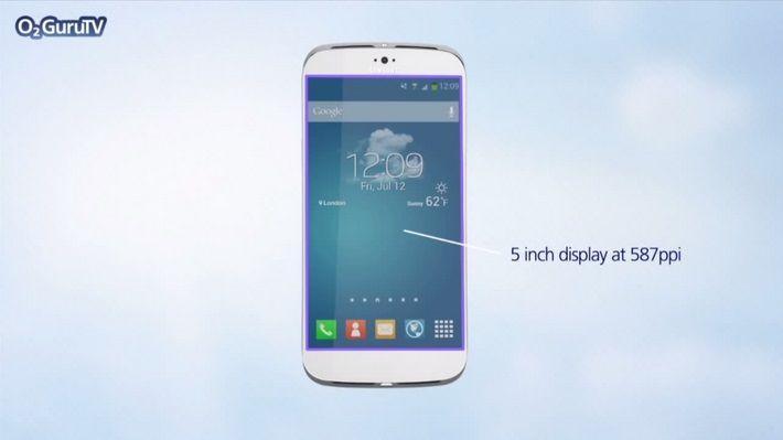 Galaxy S5 schermo curvo
