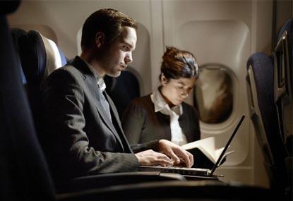 dispositivi elettronici in volo