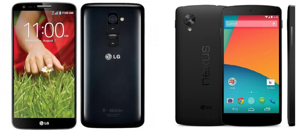 lg g2 vs nexus 5