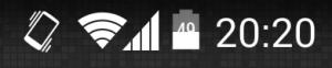 percentuale batteria