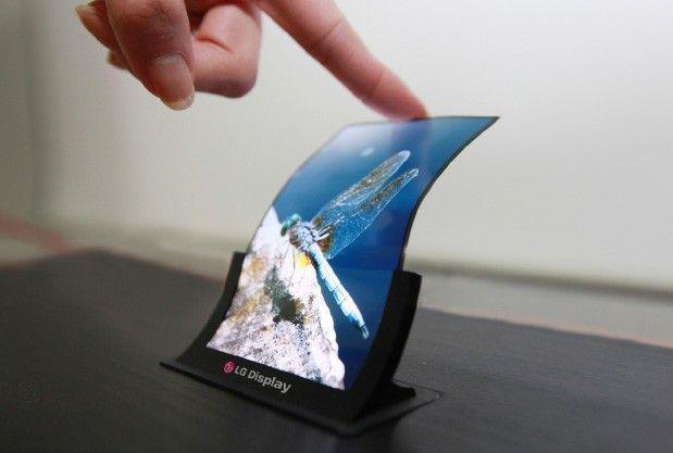 lg crede che il 40% dei display nel 2018 sarà flessibile