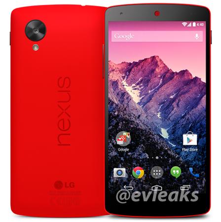 Ubuntu Touch nexus 5 rosso