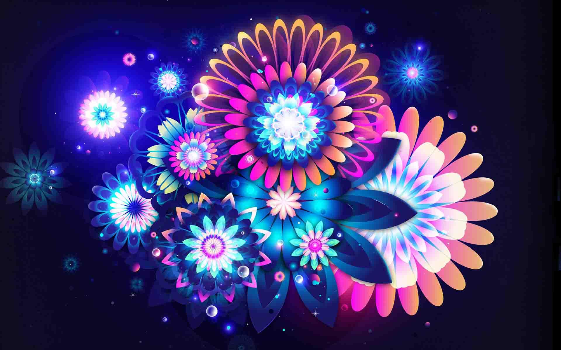 Uno splendido wallpaper fiori di luce per il vostro for Piani di luce del giorno