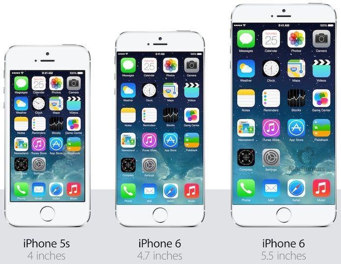 iphone 6 potrebbe essere senza cornici