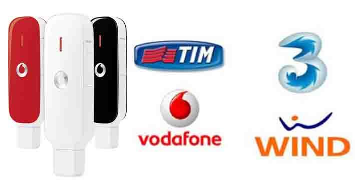 Sblocco Chiavetta Vodafone altri operatori