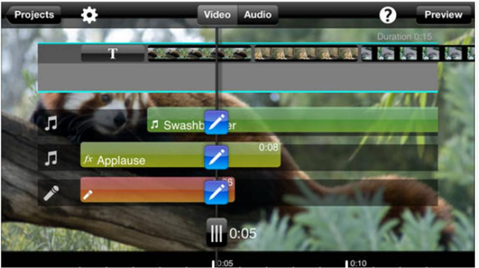 App Video Editing su iPhone Slice