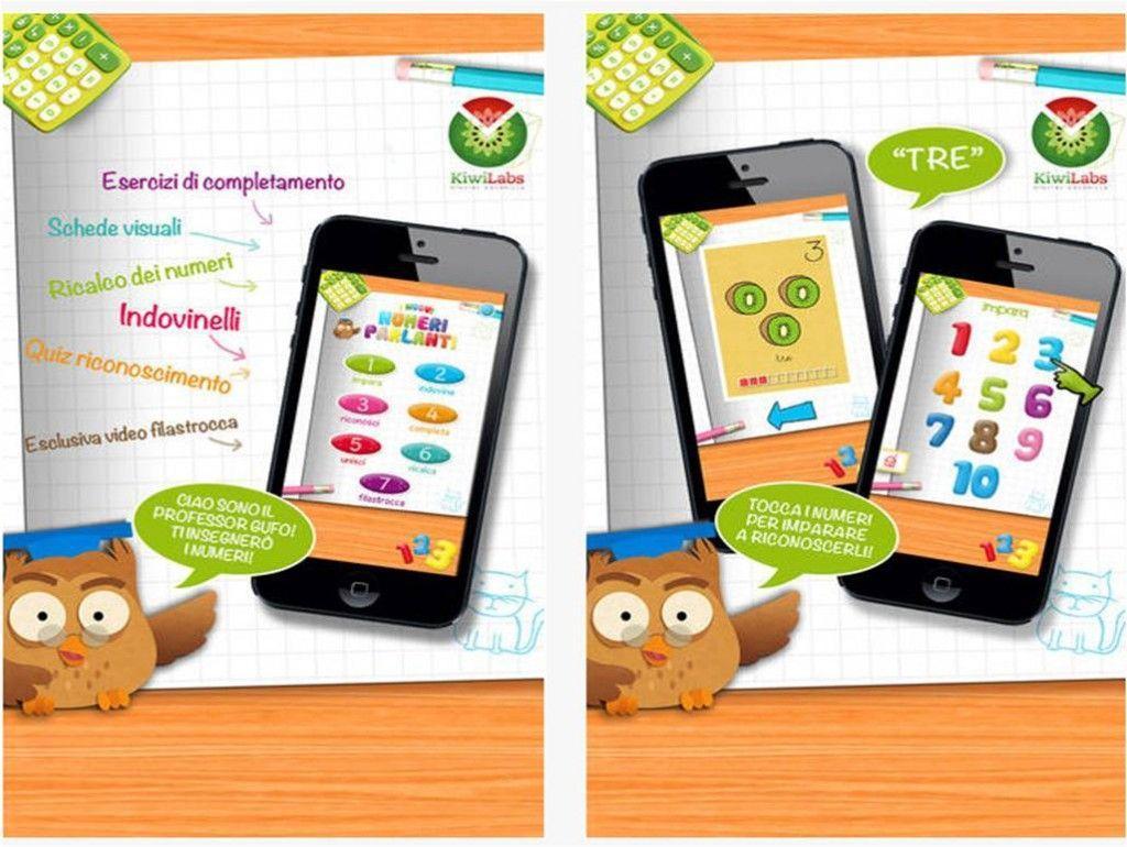 Applicazioni iPad per bambini Numeri Parlanti