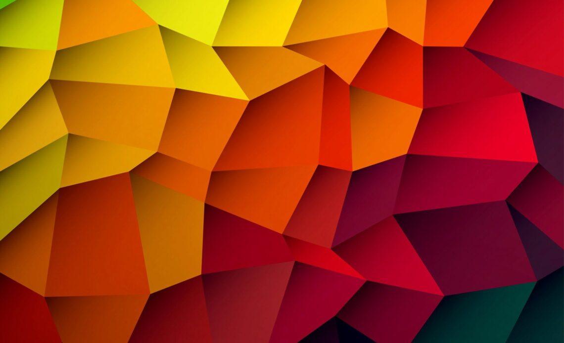 wallpaper punte astratte