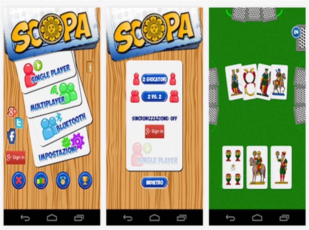 Giochi di carte per Android Scopa