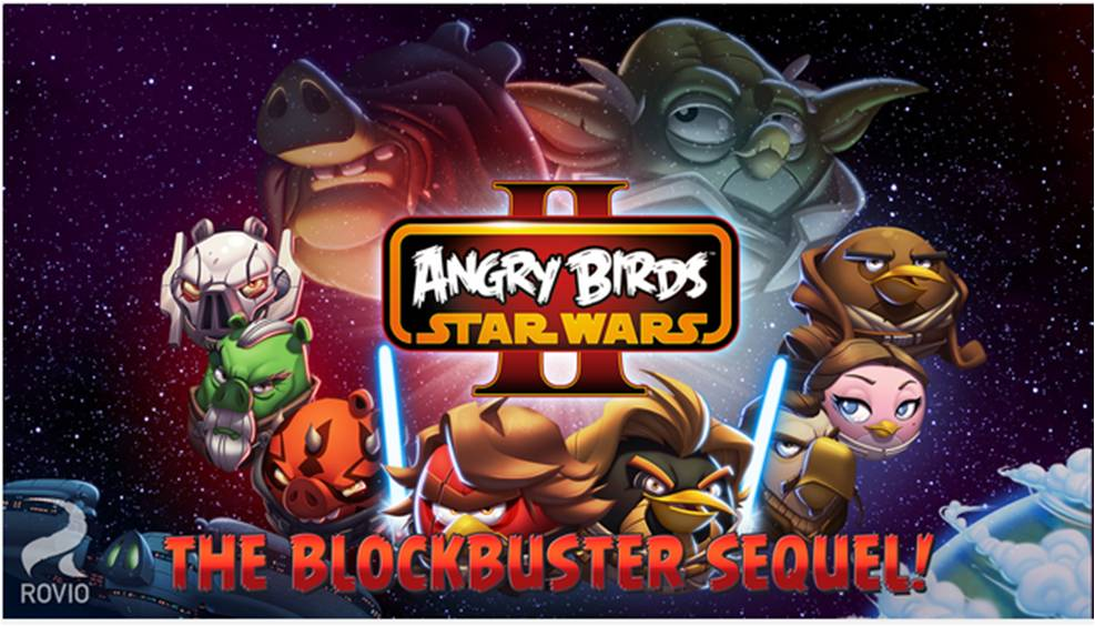 Giochi offline per Android Angry Birds Stars Wars II Free