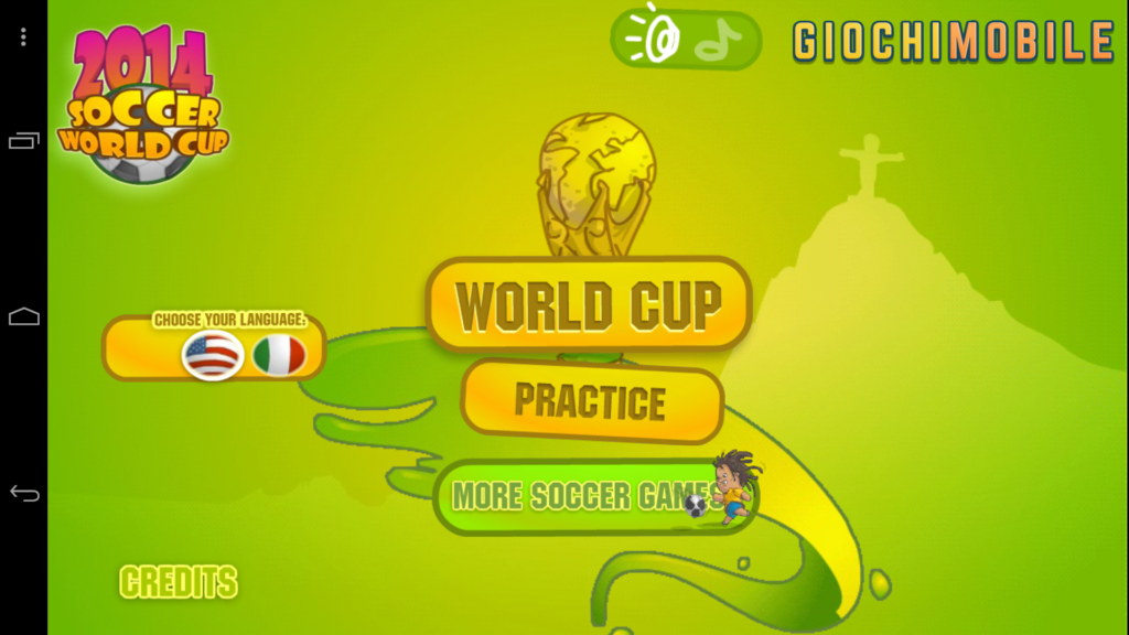 Soccer World Cup 2014 screen 3