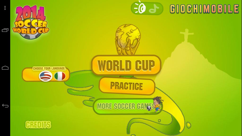 Soccer World Cup 2014 screen 3