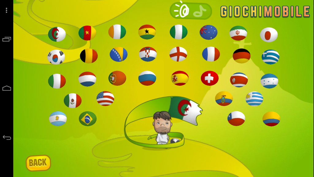 Soccer World Cup 2014 screen 2