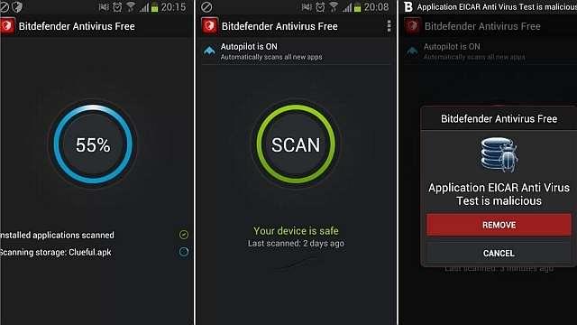 antivirus android Bitdefender Antivirus Free