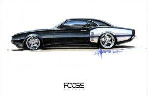 Wallpaper black firebird foose